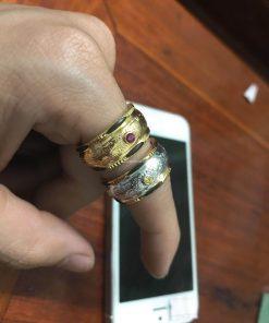 nhẫn vàng rồng phụng