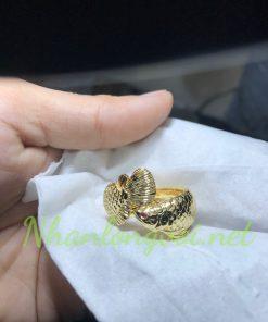 nhẫn kim long cá rồng đẹp