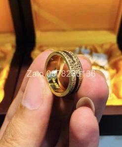 nhẫn lông đuôi voi vàng 18k