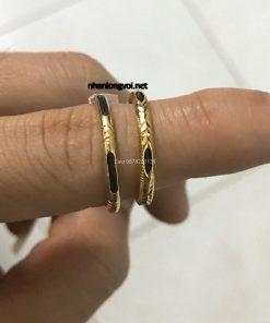 nhẫn lông voi vàng có giá 700k