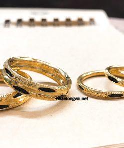 nhẫn lông đuôi voi vàng tp hcm