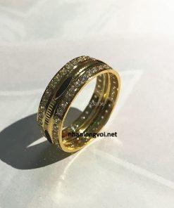 nhẫn lông đuôi voi vàng 14k tại Biên hòa và cần thơ