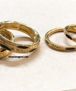 nhẫn lông đuôi voi vàng daklak
